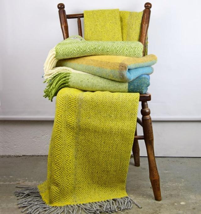 Les couvertures tissées