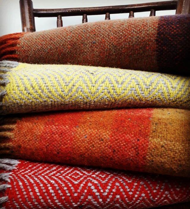 Echarpes et couvertures